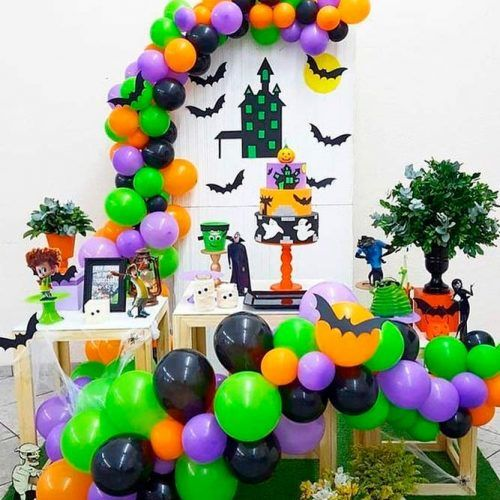 Hotel Transylvania Themed Bash #themedbash #hoteltransylvania