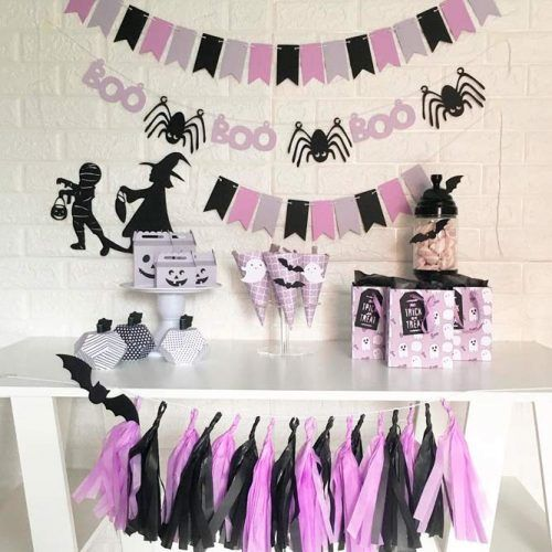 Glam Lilac Halloween Bash #lilacbash #themedbash
