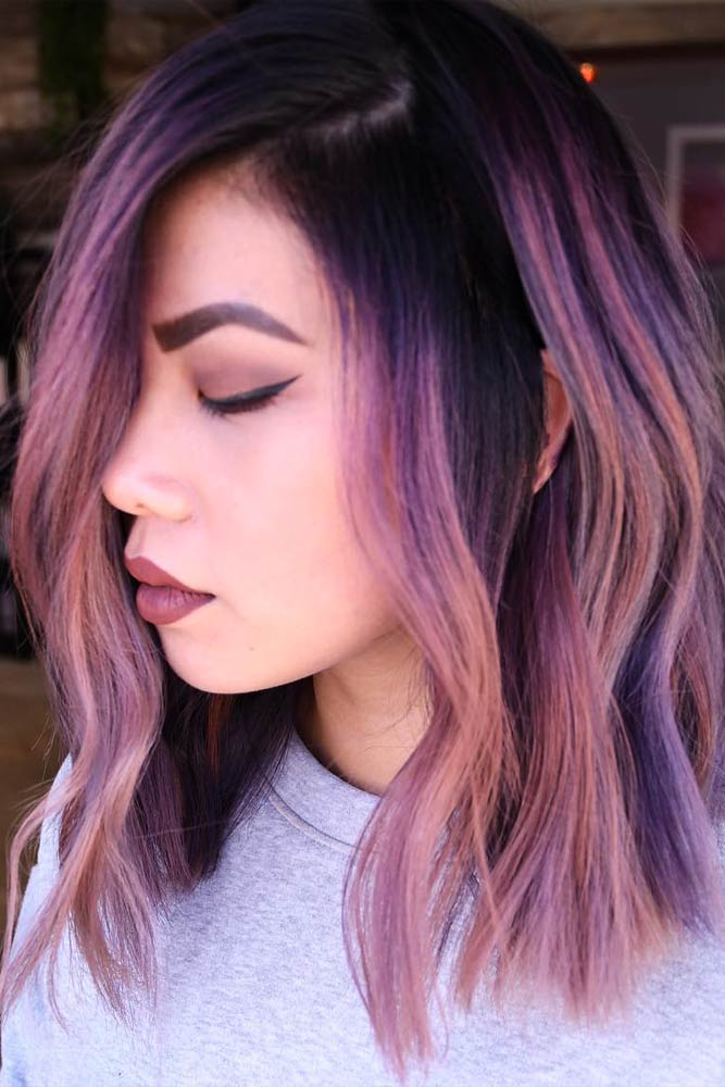 Mermaid Pastel Purple Shades #purplehair
