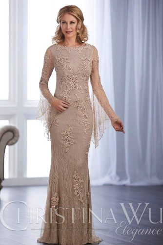 Perfect Mother Of The Bride Dress #longformaldress #lacedress