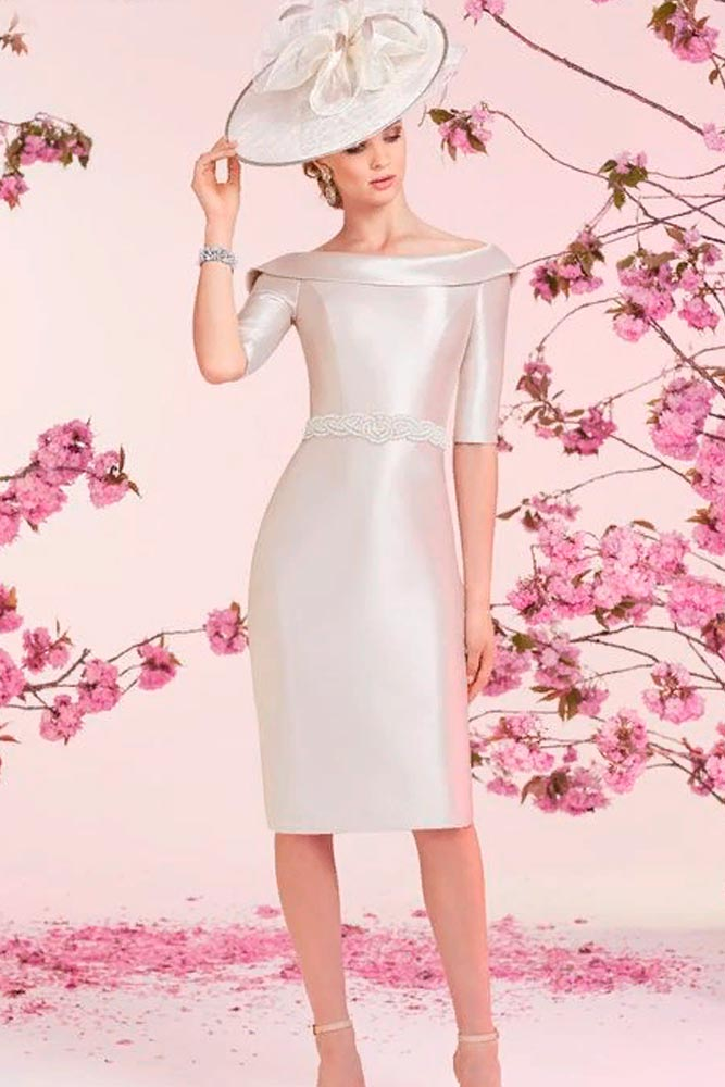 Elegant Bodycon Hand-Beaded Dress #formaldress #eveningdress