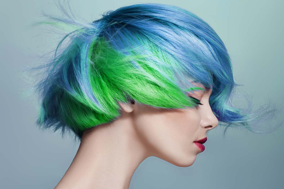 Vibrant And Pastel Mermaid Hair Color Ideas