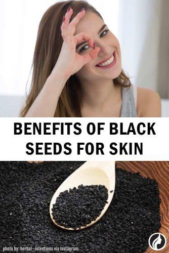 Benefits Of Black Seeds Oil For Skin #skincare #health