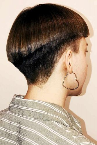 Accentuating Gradual Cut #bowlcut #pixie #shorthair