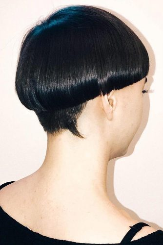 Sleek Long Bowl #bowlcut #pixie #shorthair