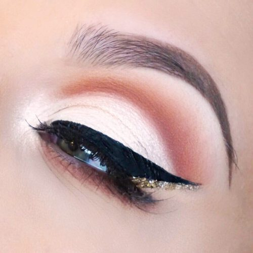 Cut Crease With Double Eyeliner #doubleline
