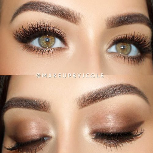Natural Makeup With Eyeliner #naturalmakeup #wingedline