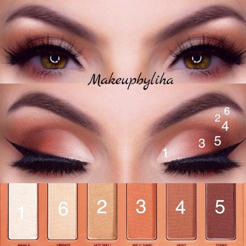 Nude Smokey Eyes #matteshadow #smokey