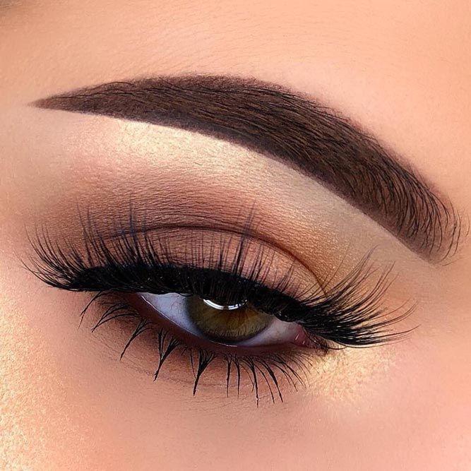 Nude Eyes Makeup For Deep Set Eyes #nudemakeup
