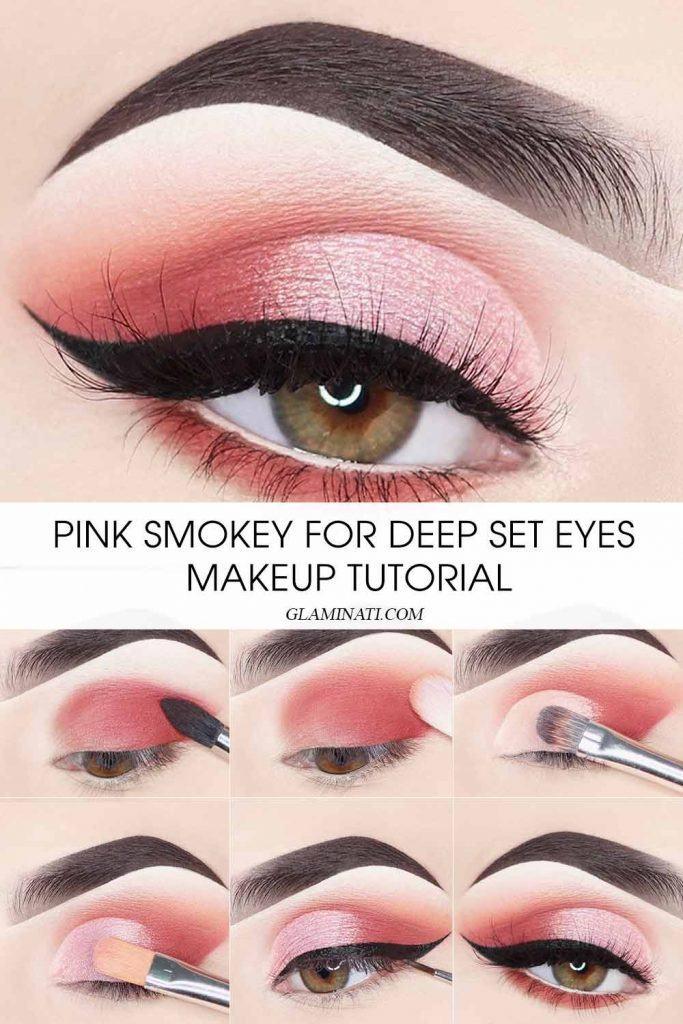 Pink Smokey Makeup Tutorial #pinksmokey