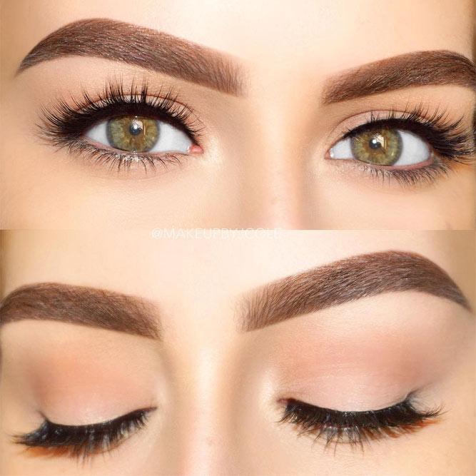 Soft Nude Eyes Makeup #nudeeyes