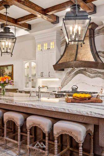 Architectural Features #vintagedecor #kitchendecor