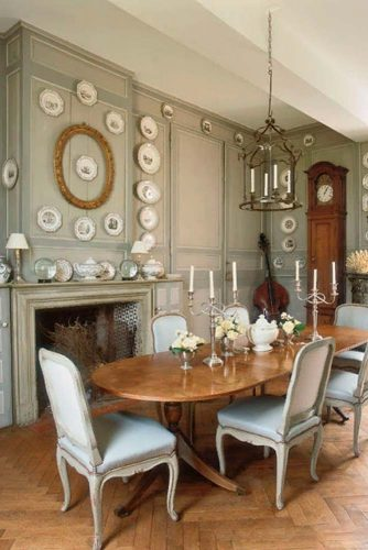 Perfect French Country Dining Room Décor #royalhomedecor #eleganthomedecor