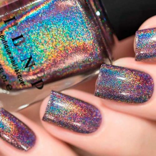 Charmed From ILNP Ultra-Holo Collection #sparklynails #holonails #ilnp