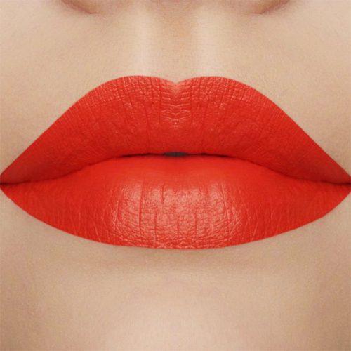 Red Orange Shade For Fire Hair Girls #redorangelipstick #redhair