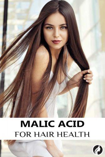 Malic Acid For Hair Health #haircare #health