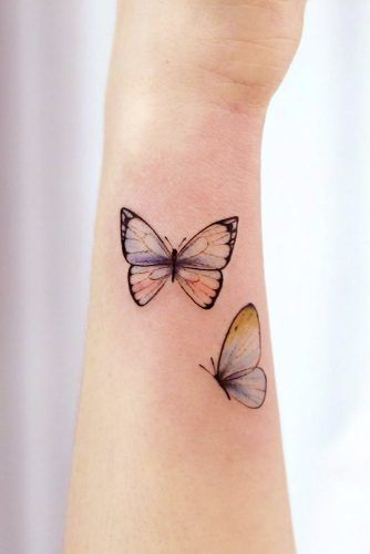 Butterfly Tattoos For Arm #butterfly #butterflytattoo