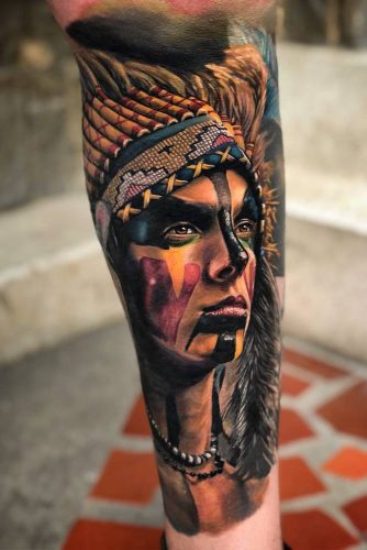 Realistic Tattoo Style #armtattoo #realistictattoo