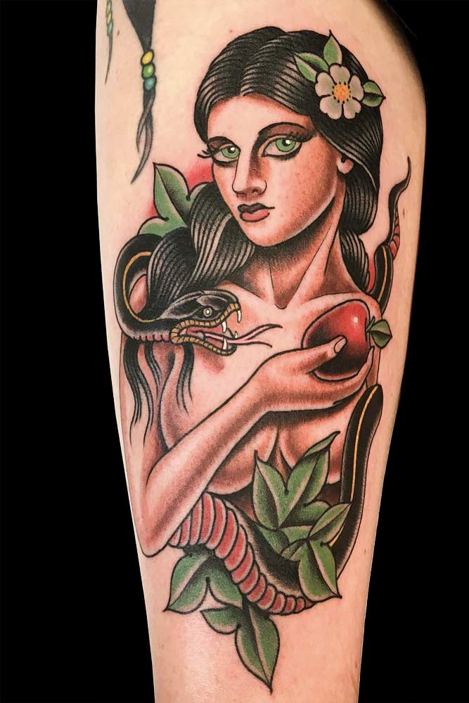 American Traditional Tattoo Style #traditionaltattoo #armtattoo