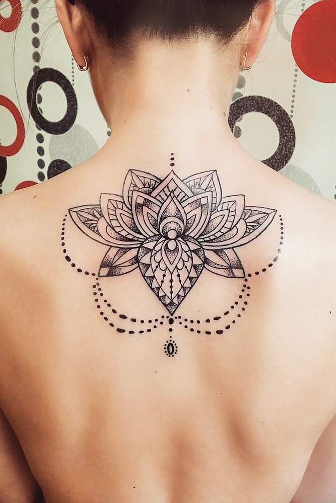 Lotus Flower Tattoo Design #lotusflowertattoo #lotustattoo