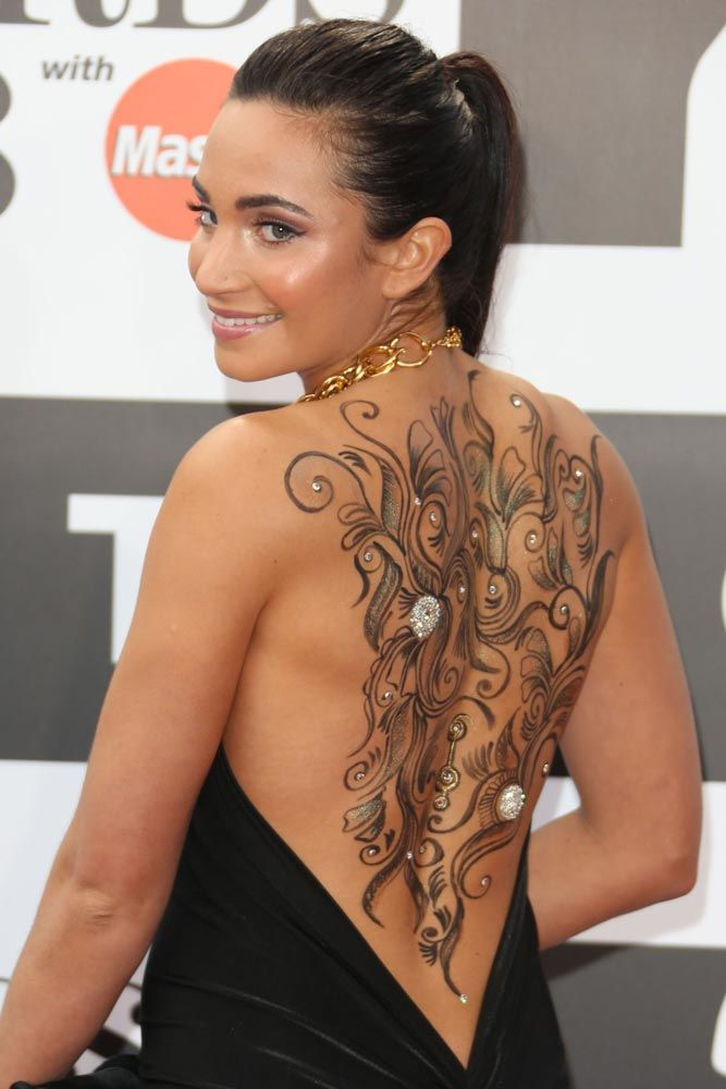 Laura Wright #celebrity #celebritytattoo