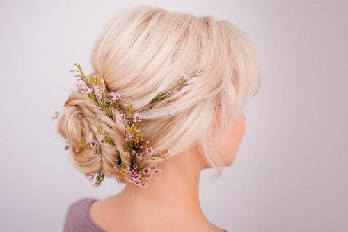 Interesting Bun Hairstyles Ideas For Any Occasion