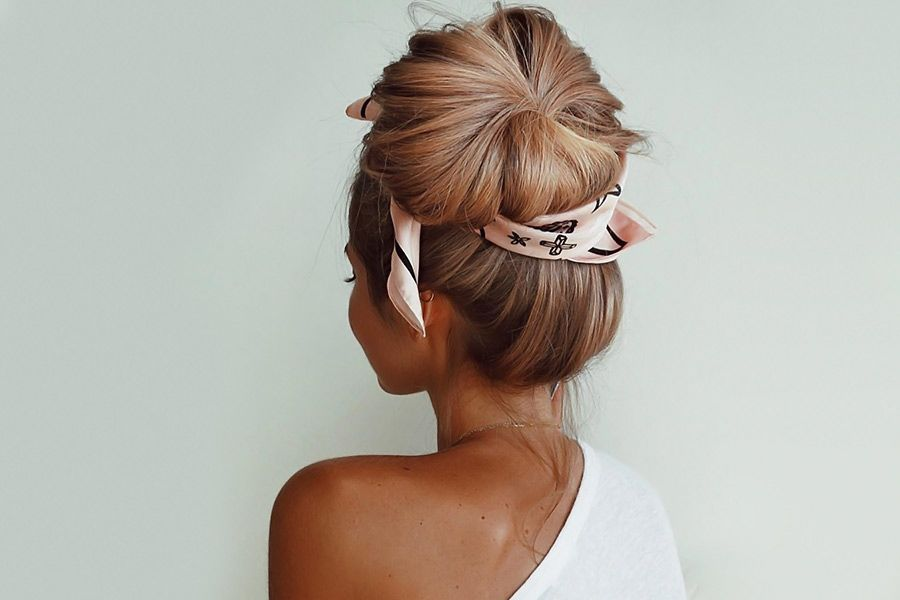 Interesting Bun Hairstyles Ideas For Any Occation