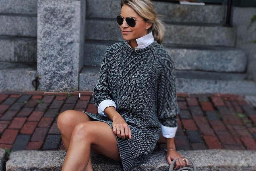 Inspiring Ideas How To Rock A Sweater Dress On Daily Basis