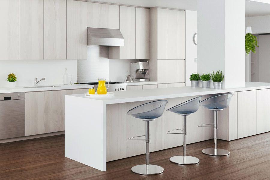 18 Kitchen Designs With White Kitchen Cabinets