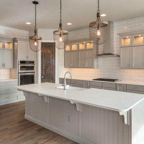 Perfect White Shades For The Kitchen #homedecor #stylishhome #classickitchen