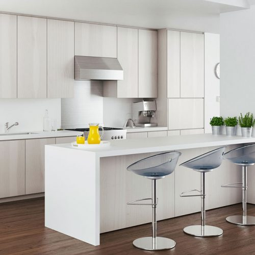Glossy Finish Cabinets #homedecor #stylishhome #contemporarykitchen