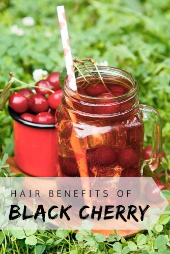 Black Cherries Benefits For Hair #beautytips #healthandbeauty