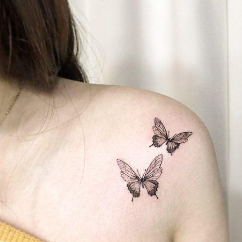 Small Tattoo Idea For Shoulder #tinytattoo