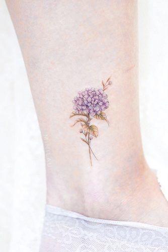 Hydrangea Flower #hydrageaflowertattoo