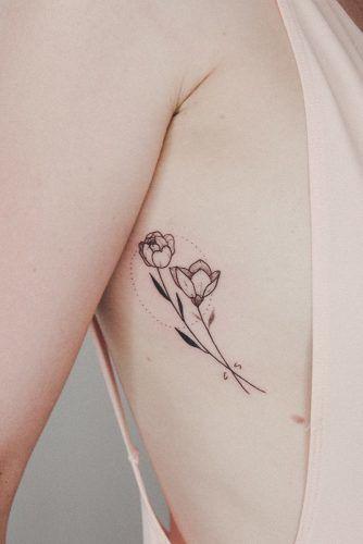 Magnolia Flower #magnoliatattoo