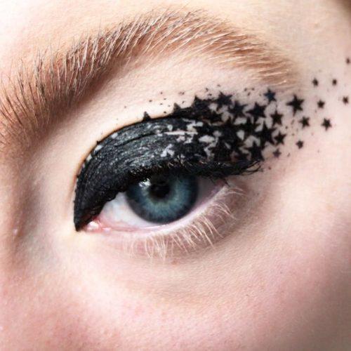 Goth Eyeliner Makeup Art #eyelinerart #eyesmakeup