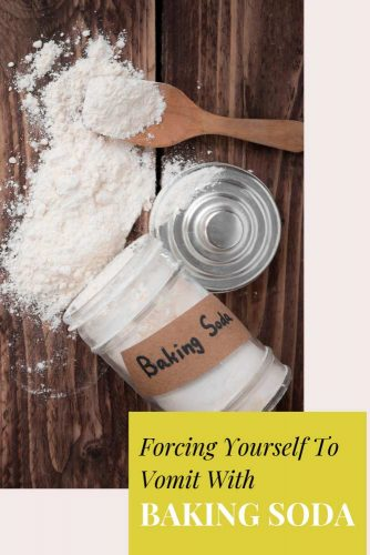 Forcing Yourself To Vomit With Baking Soda #life #health #usefultips