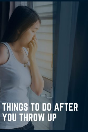 Things To Do After You Throw Up #life #health #usefultips