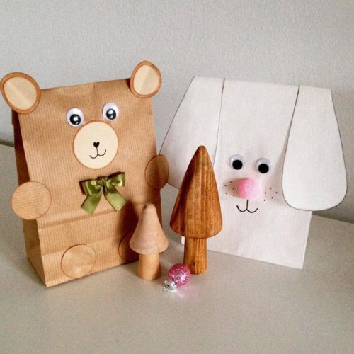 Wrap Ideas For Children With Fun Animals #childwrapping #animalspacking