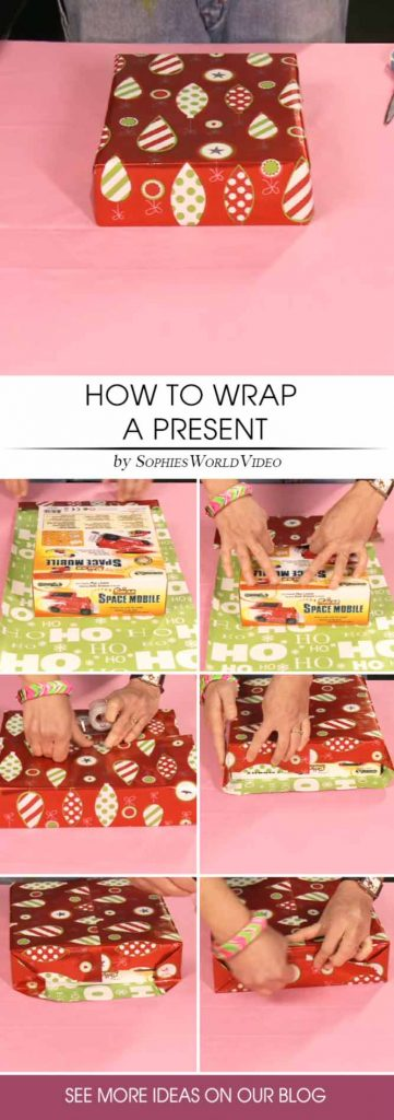 Easy Tutorial How To Wrap Presents #wrapping #tutorial