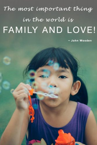 The most important thing in the world is family and love #quotesaboutfamily #inspirationalfamilyquotes #familylovequotes