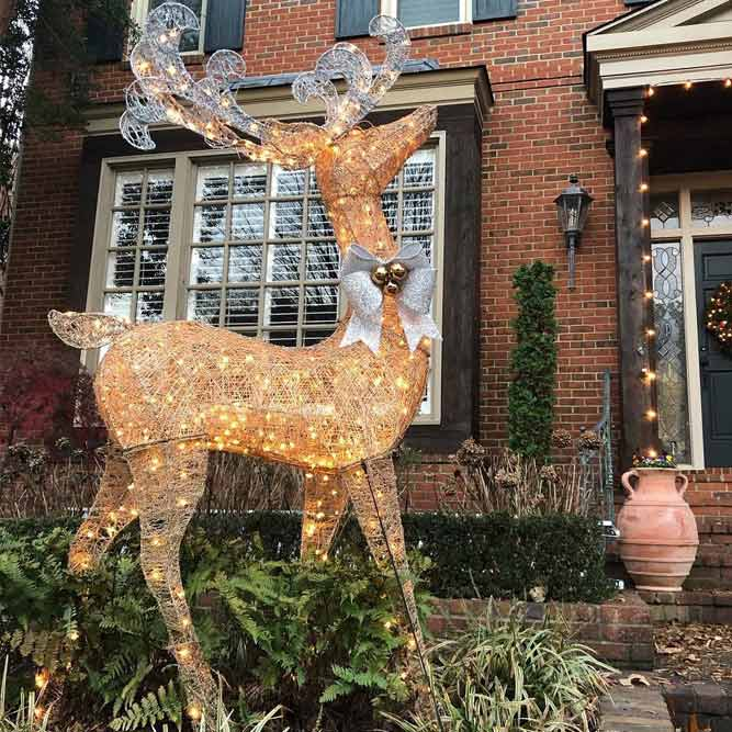 led Deer Decoration For Your Yard #reindeer #ledlights