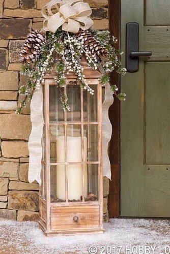 Outdoor Lantern With Candles #candles #lanterns
