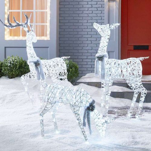 Led Deer Decorations For Your Yard #leddecorations #deer
