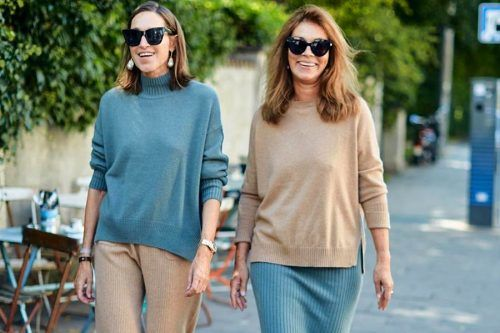 All The Best And Trendiest Cashmere Sweater Looks To Pull Off This Season