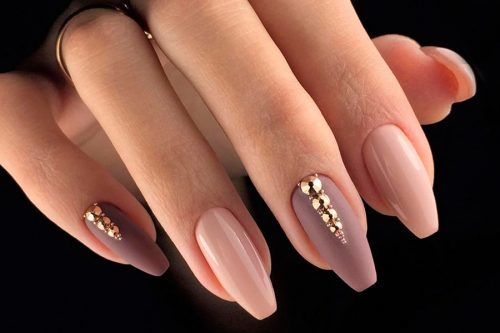 Mauve Color Nail Art Ideas To Look Flawless To The Fingertips