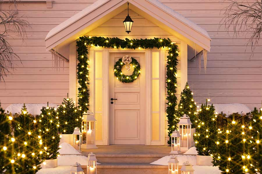 26 Beautiful And Festive Outdoor Christmas Decorations