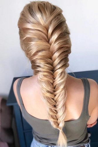 Fishtail Braid #braids #longhair