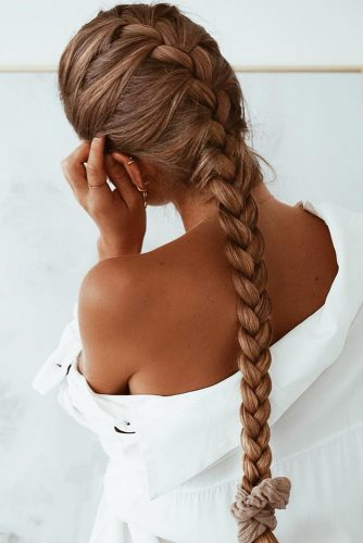 French Braid #braids #longhair