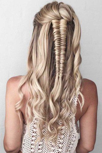 Infinity Braid #braids #halfup